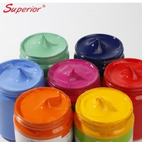 Superior Acrylic Paint Non-toxic Artist Quality 42 colors acrylic paint sets for kids DIY painting