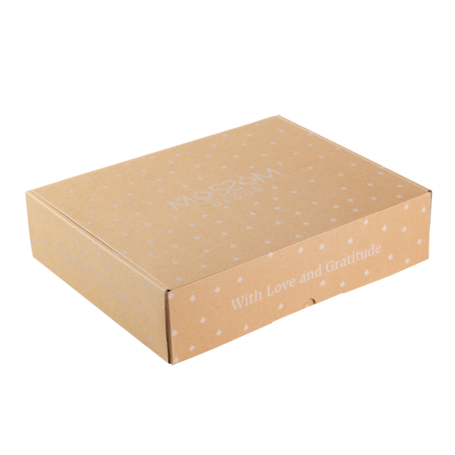 Custom  box inner color beautiful corrugated and ivory card boxes