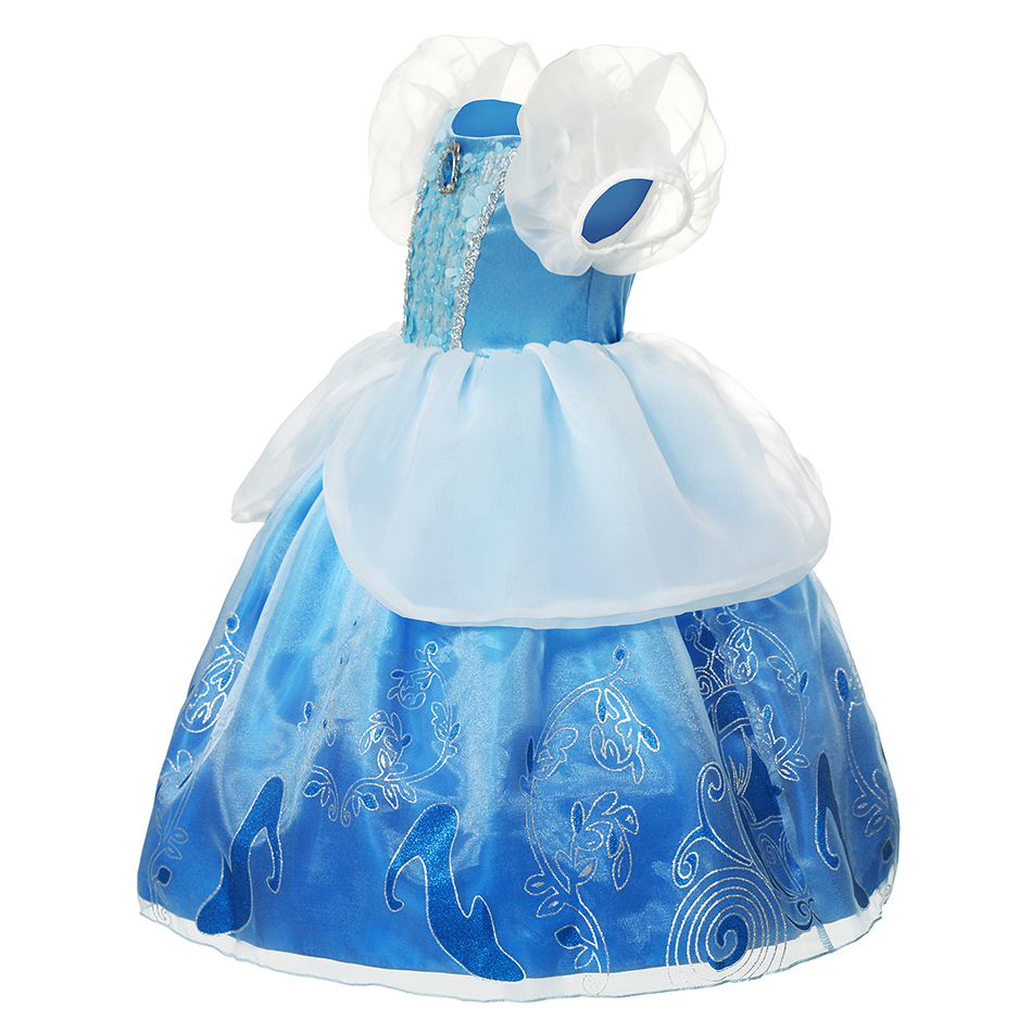 Girls Cinderella Dress Up Dresses Kids Rella Gradient Color Gorgeous Ball Gown Fluffy Castle Print Lace Glitter Princess Costume Buy Cinderella Dress For Kids Girl Girls Character Inspired Princess Dress Girls Cinderella Dress