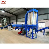 Rotary Drum Type Sawdust Dryer Wood Chip Drum Dryer Wood Shavings Dryer for Sale
