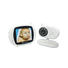 Smart Audio dan Video <span class=keywords><strong>Walkie</strong></span> <span class=keywords><strong>Talkie</strong></span> Baby Monitor Two Way Audio Motion Detection 2.4G Nirkabel Digital 3.5 Inci warna LCD Baby