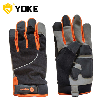 Impact Resistant Safety Work Anti Slip mechanic gloves mechanics motocross gloves