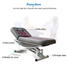Massage Table Kangmei Best Price 2 Electric CE Motors Spa Salon Cosmetic Beauty Massage Table Treatment Facial Bed