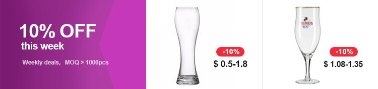 Glas drank dispenser met tap machine maken prijs