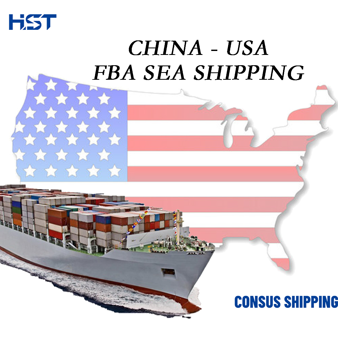 Cheap Cargo Service RIC1 RIC2 PHL4 Shipping Agents China To USA Amazon FBA Express Sea <strong>Freight</strong>