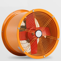 16 Inch High-Speed Piped Ventilation Fan Exhaust Fan Kitchen Vent Blower with Stainless Steel Blade And Pure Copper Motor