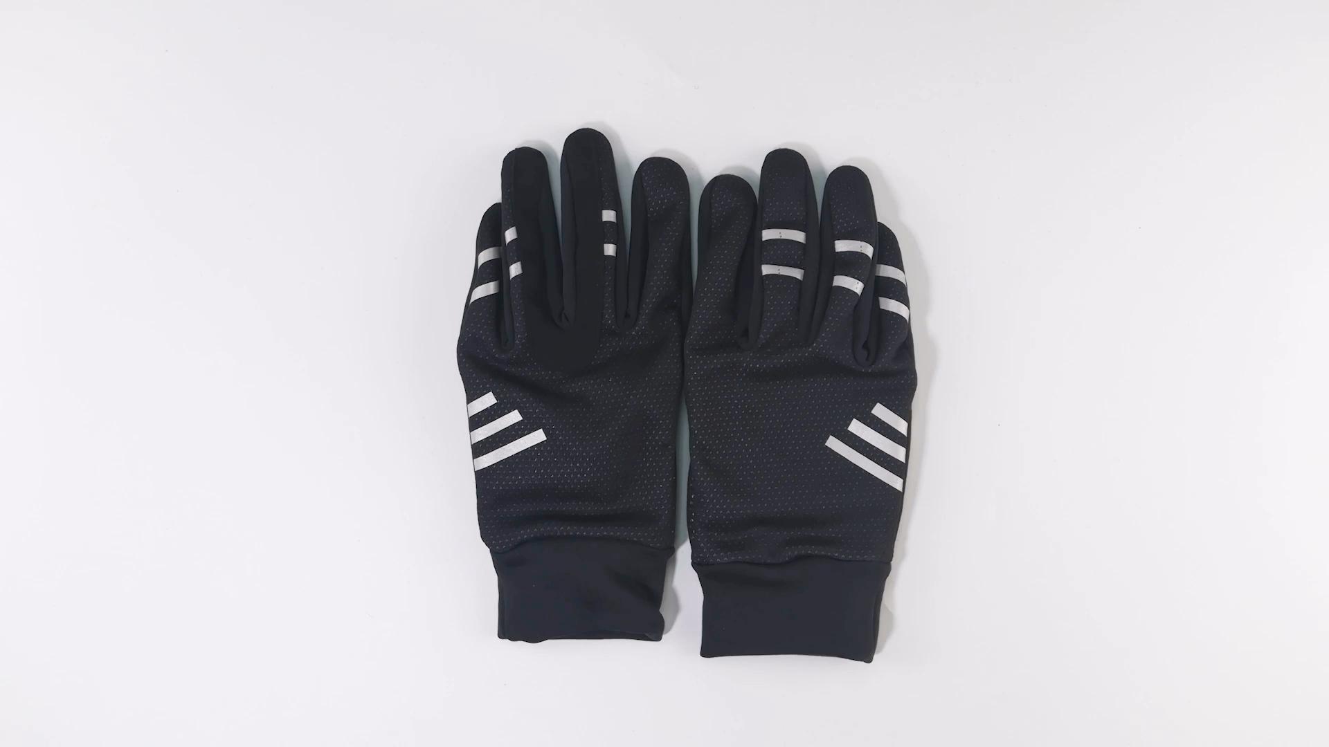 Di alta qualità su ordinazione oem pieni della barretta anti vibrazione impermeabile caldo ciclismo mountain bike guanti per l'inverno giovani adulti