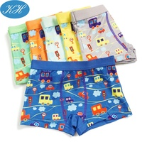 Wholesale Printed Children Underwear For Boys Boxers Good Quality Cheap Kids Underwear Stock