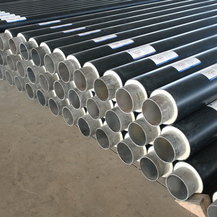 Directly buried polyurethane underground steel foam tube thermal insulation gas pip lines