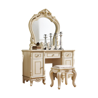 High Quality European Style Make-up Stool,dressing Table Set With Chair