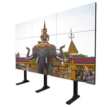 Outdoor lcd advertentie display 3x3 video wall 49 inch 1080 p touch screen monitor reclame <span class=keywords><strong>nagellak</strong></span> LED digital signage