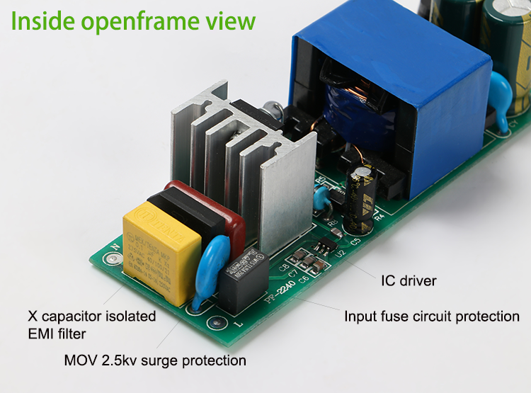 Isolated constant current led driver 50watt 600ma 50w 700ma 50watts 1500ma led flood light 50w 10s5p led driver IP67