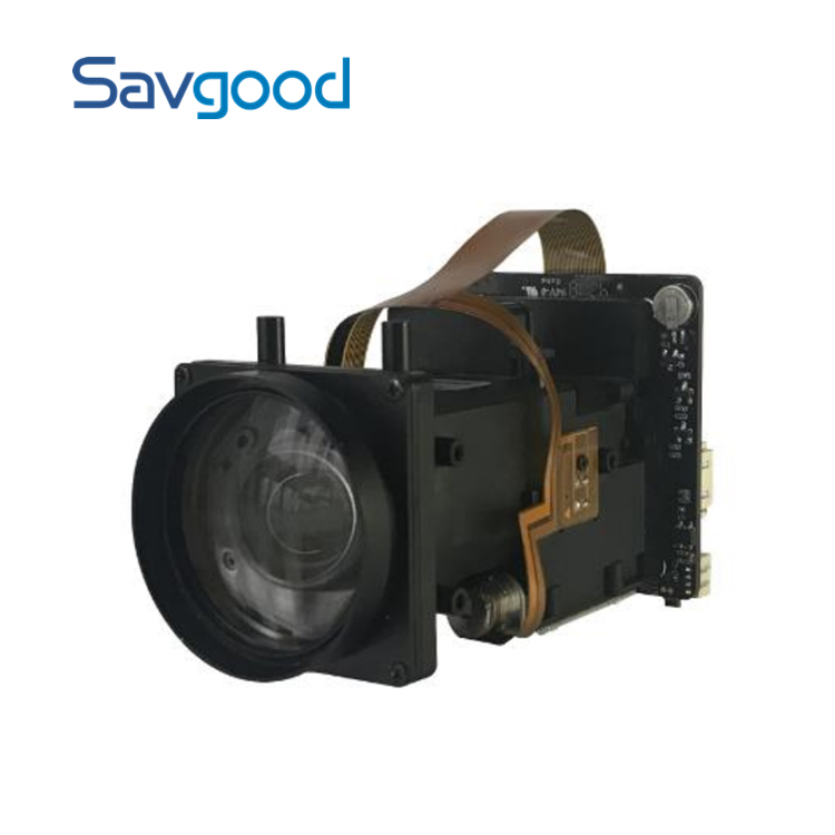 1/2.8 CMOS 2MP 20x zoom IP camera module support IVS functions small Drone camera SG-ZCM2020NL