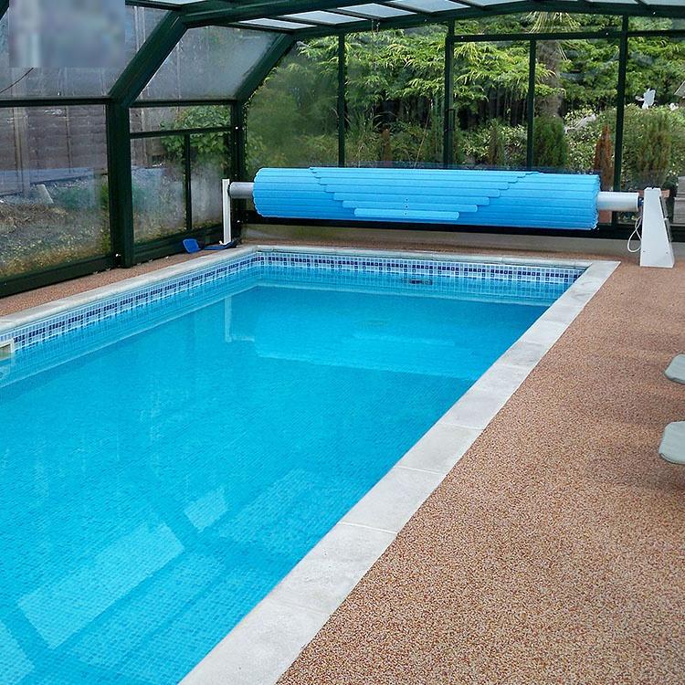 2020 Hot Koop Intrekbare Handleiding Zwembad Cover