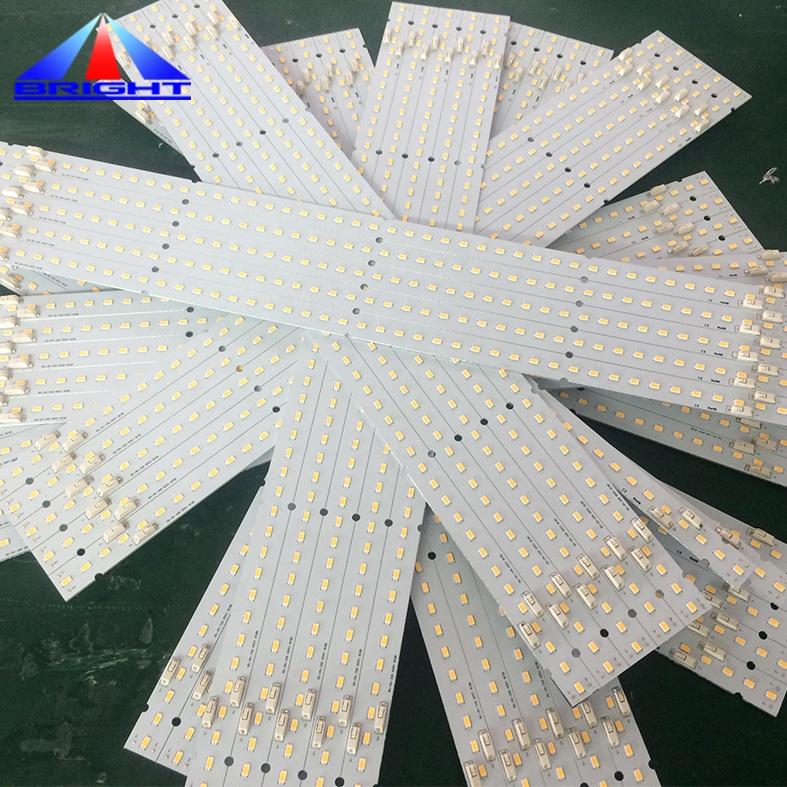 Full spectrum plant growth board Led Grow Light Samsung lm561c lm301b lm301h S6 bin rigid led strip