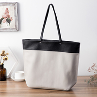 GIONAR Top Layer Cow Leather Large Capacity Custom Online Grain Tote Handbag