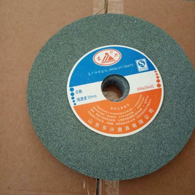 Abrasives Green silicon carbide grinding wheel for granite