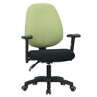 A09# Top sell chrome metal competitive fabric seat office chair