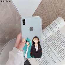 MaiYaCa аниме мой герой Boku no Hero Academy deku и bakugou чехол для телефона Apple iphone 11 pro 8 7 66S Plus X XS MAX 5s SE XR(Китай)