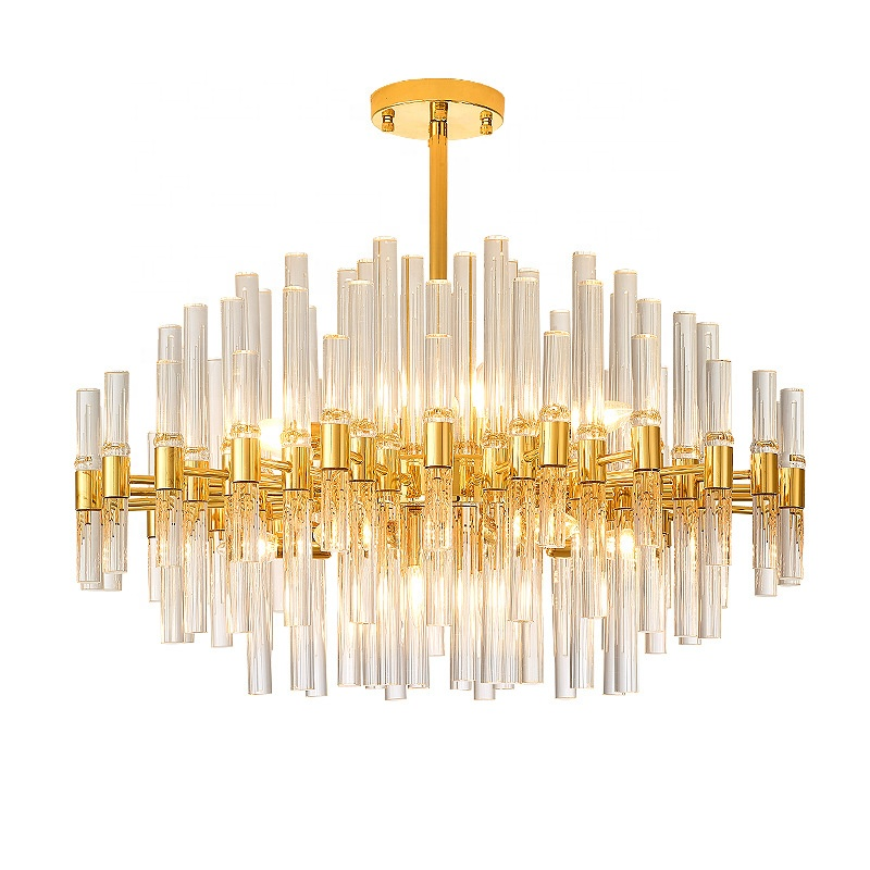 Modern crystal chandelier pendant light for indoor lighting
