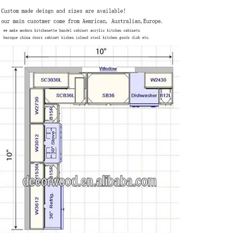New Design Apartment Lemari Dapur Morden Dapur Kabinet