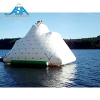 Inflatable Lake Floats/ Inflatable Pool Iceberg Float / Rock Climbing Iceberg Used on Sea