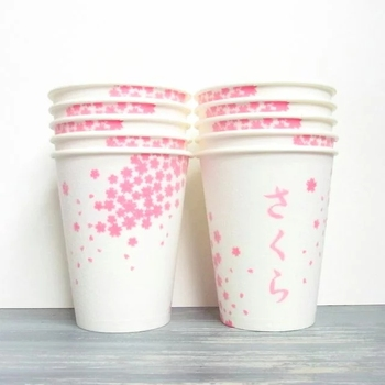 Food grade paper cup fan paper sheet for making paper cups