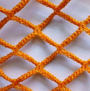 High quality knotless nylon mesh safety Cargo net