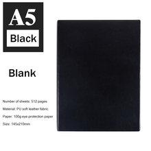 Супер толстый блокнот из мягкой искусственной кожи, 512 страниц, А5, ежедневный блокнот, записная книжка для От 3 до 4 лет, лучший подарок для оф...(Китай)