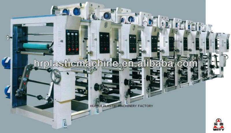 ASY-2800 Two Color Gravure Printing Machine