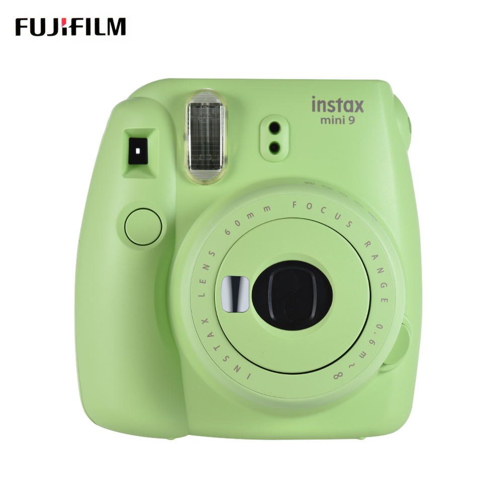 Новинка 5 цветов Fujifilm Instax Mini 9 мгновенная камера фото камера + 40 листов фотобумаги Аксессуары для фотографии(Китай)