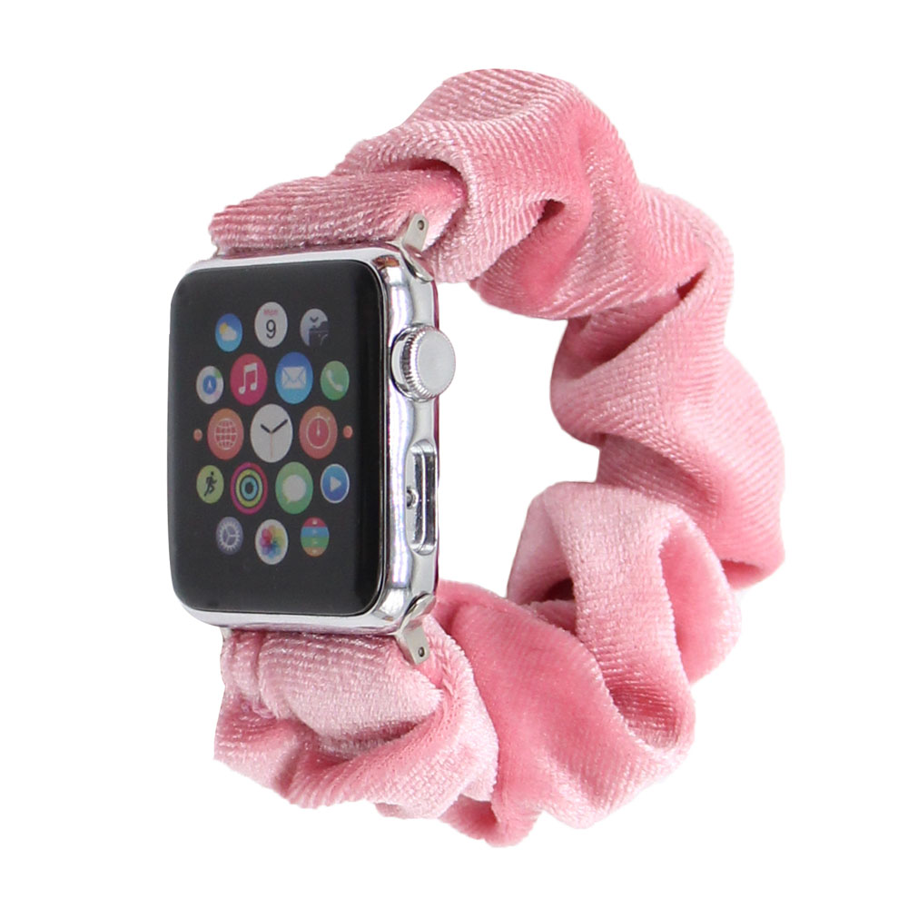 Wholesale Apple Watch Band Designer For Accessories 38mm/40mm Custom Apple Watch Band Scrunchie For Girls