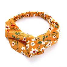 17KM богемная Женская Цветочная повязка на голову, модные банданы для девочек, мягкие банданы на голову, эластичные повязки на голову, аксессу...(Китай)