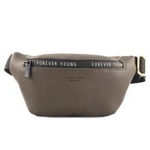 YIZHONG кожаная Роскошная брендовая поясная сумка для женщин унисекс, Большая вместительная поясная сумка, дорожная поясная сумка, многофункц...(Китай)