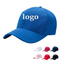Fashion Embroidery 100% Cotton Custom Logo Simple Cheap Blank Snapback Caps, Sport Hat