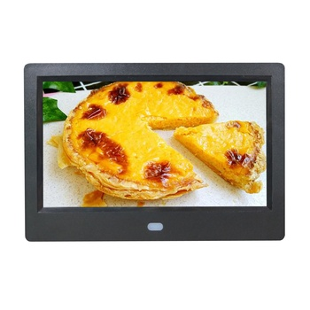 7 inch new design high resolution 1024X600 play picture video loop playback digital photo frame digital picture frame
