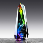 Crystal Award Crystal High Quality K9 Crystal Custom Octagon Tower Crystal Trophy Award