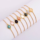 WX989B Fashion charm bracelet jewelry natural shell gold bracelets for women jewelry