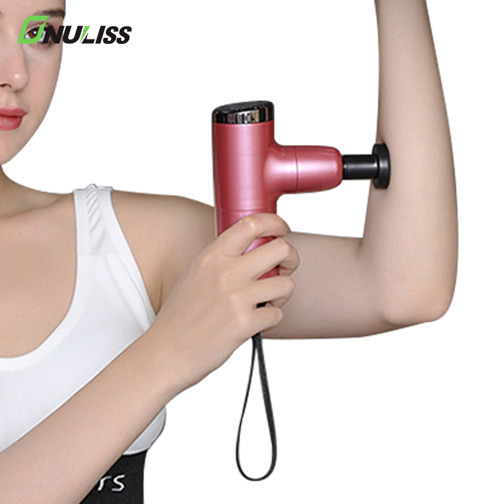 2020 Newest Handheld Percussive Deep Tissue Mini Pocket Massage Gun