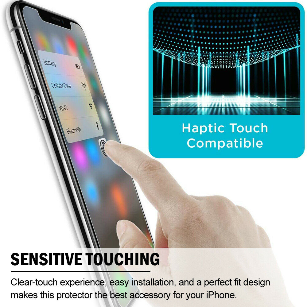 3 in 1 Front+Back+Camera Lens Tempered Glass Screen Protector Film For iPhone 11 Pro Max