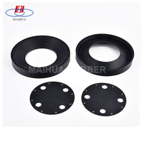 Industrial Machine Application rubber exhaust flange gasket