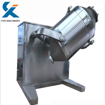 Good quality 3d mixer machine for dry powder