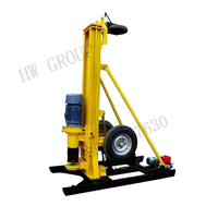 Pneumatic drill machine for stone quarry drilling