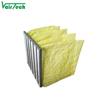 Air conditioning bag filter medium efficiency air filter pocket air filter