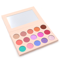 New arrival!!!Ready to ship 15 color EyeShadow Palette Makeup Kit Smooth Eyeshadow