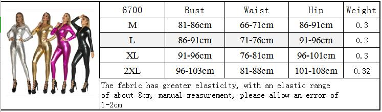 Women Sexy Solid PU Leather Bodycon Jumpsuit Zipper Open Crotch Bodysuit Skinny Catsuit Tight Romper Sexy Clubwear