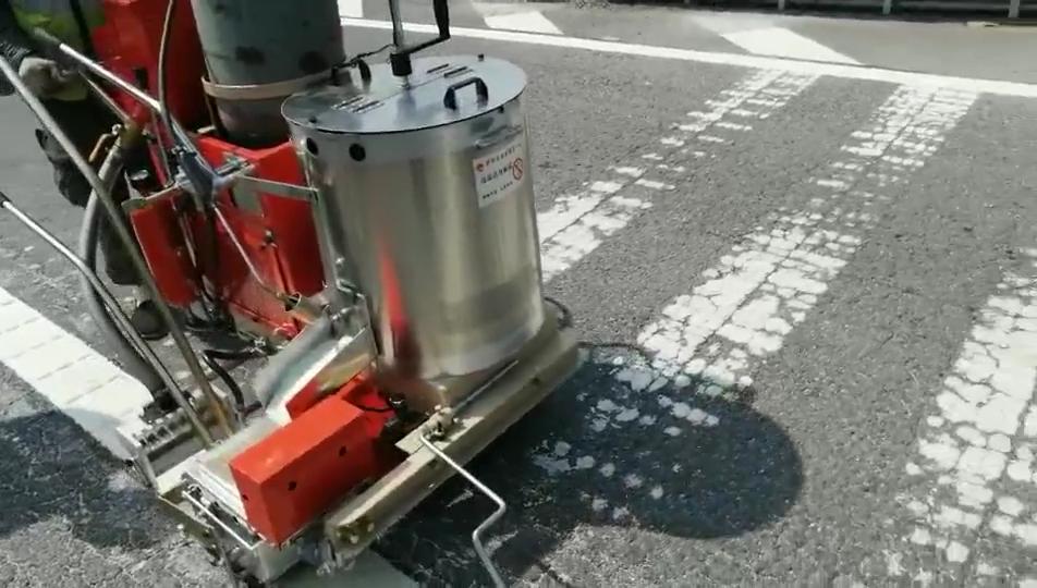 powermaster thermoplastic road marking machine/road marking shot blasting machines