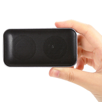Mini Small Metal Pocket-Sized Music Sound Box Outdoor Portable Wireless Bluetooth Speaker