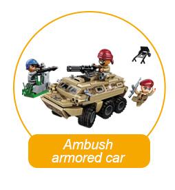 Qman block toy aircraft models war ship set Amazon Hot Selling educational building block intelligent kids toys