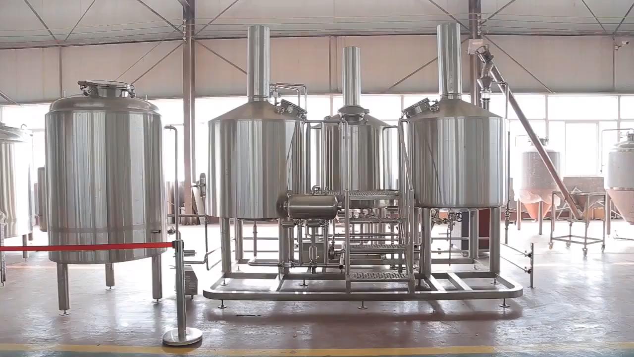 500L 1000L 2000L शंक्वाकार बियर शराब वाइनरी kombucha fermenting उपकरण, डिंपल प्लेट ठंडा करने के साथ किण्वक